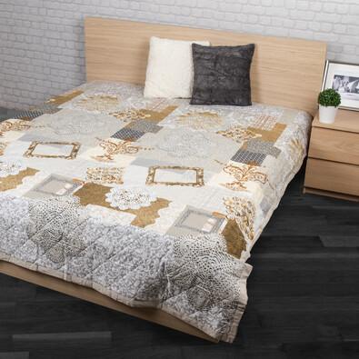 Narzuta na łóżko Lace beżowy, 160 x 220 cm
