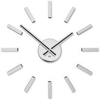 Future Time FT9400SI Modular chrome Designové samolepiace hodiny, pr. 40 cm
