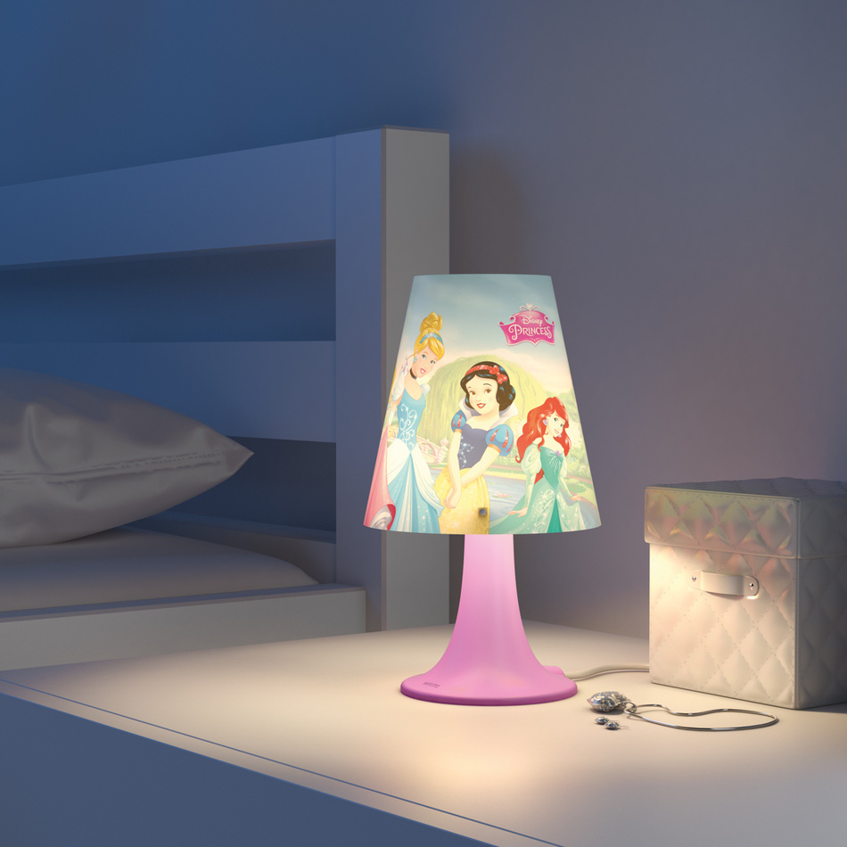 Philips Disney Lampa stolná Princess