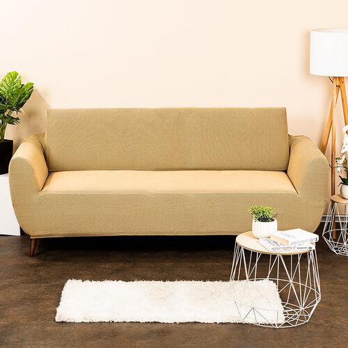 4Home Multielastický potah na sedací soupravu Comfort béžová, 180 - 220 cm