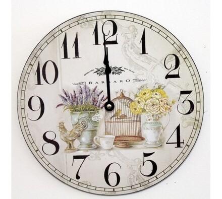 Nástěnné hodiny francouzské