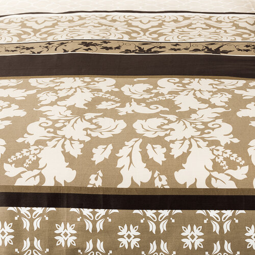 4Home Saténové povlečení Nature, 220 x 200 cm, 2 ks 70 x 90 cm