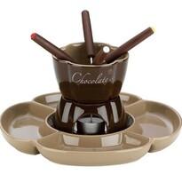 Kela 7-częściowy komplet Fondue czekoladowe FIORE