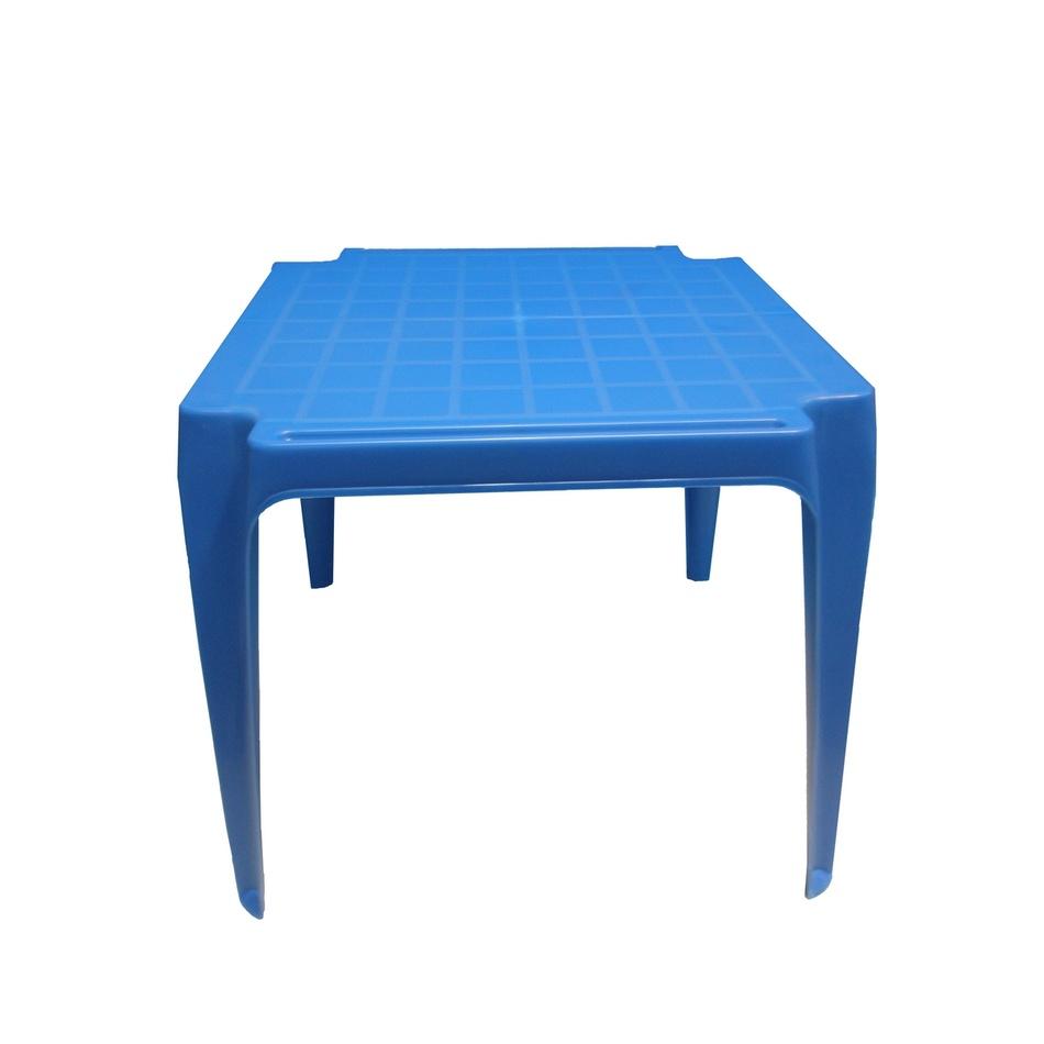 Dětský stůl, modrá