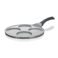 Tigaie pentru 4 clătite Banquet cu suprafața non-stick Granite Grey 26 cm