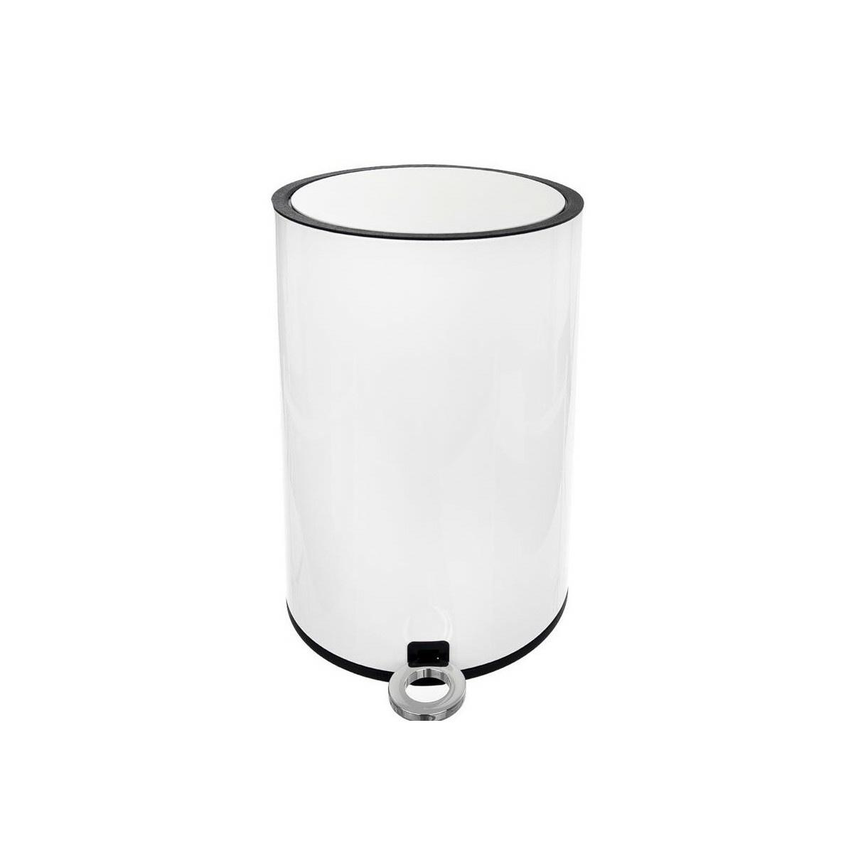 Coș de gunoi cu pedală Orion WHITE, 6 l imagine 2021 e4home.ro