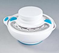 Kuchyňská váha mechanická, bílá, bílá