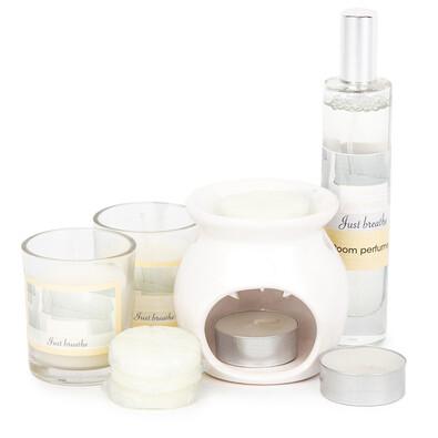 Aromatico Just breathe gyertya- és aromalámpa készlet, 10 db