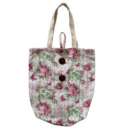 Nákupní taška Růže, 40 x 42 cm
