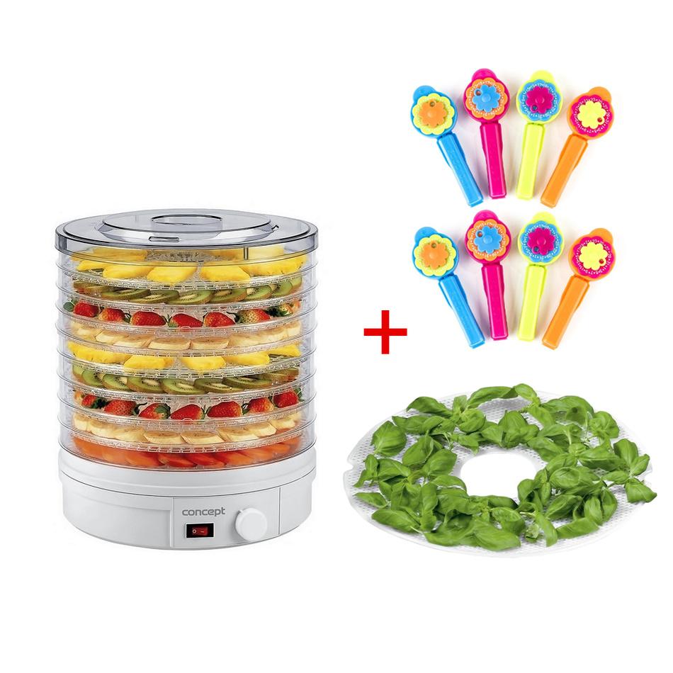 Concept SO1020 elektrická sušička ovocia + zadarmo darčeky