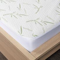 4Home Bamboo Ochraniacz  na materac z lamówką