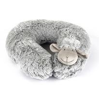 Poduszka podróżna Owieczka szary, 30 cm