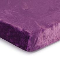 Cearşaf Micro-pluş, violet, 90 x 200 cm