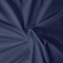 Cearşaf din satin, albastru închis, 120 x 200 cm