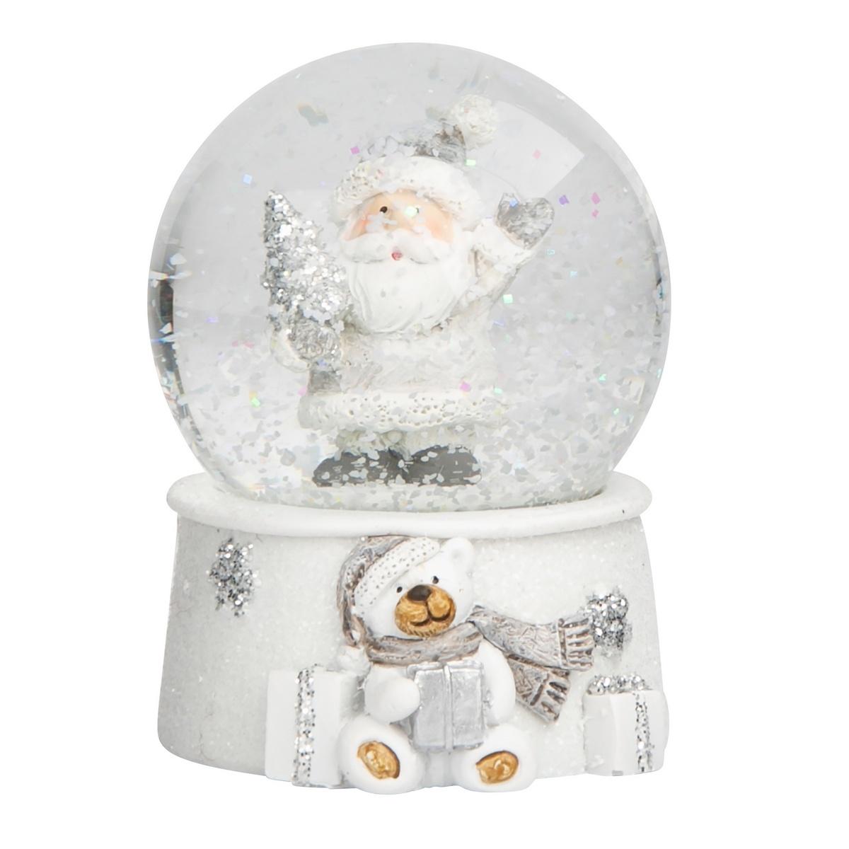 Altom Vánoční sněžítko Santa, 6,5 x 9,5 cm