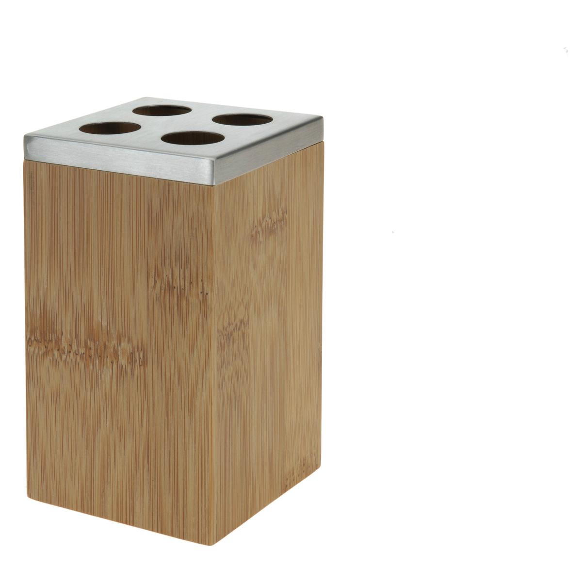 Stojánek na kartáčky, bambus