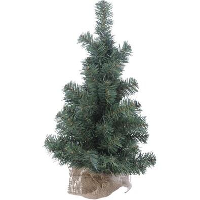 Malý vánoční stromeček zelený, 45 cm, zelená