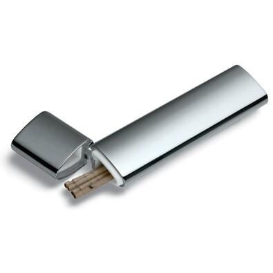 Pouzdro na párátka 8,5 x 1 x 2 cm, stříbrné