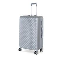 Pretty UP Cestovný škrupinový kufor ABS21 L, sivá