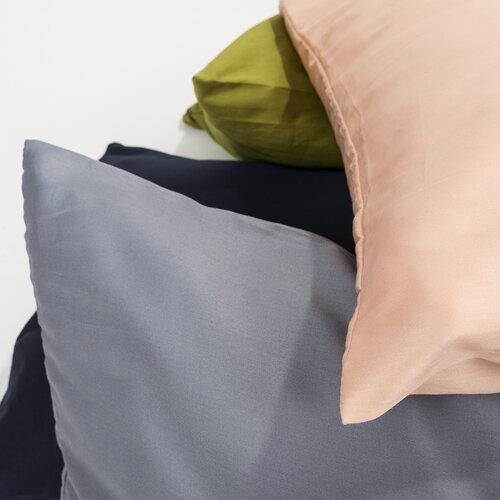 4Home Pótférj Relaxációs szatén párnahuzat szürke, 50 x 150 cm
