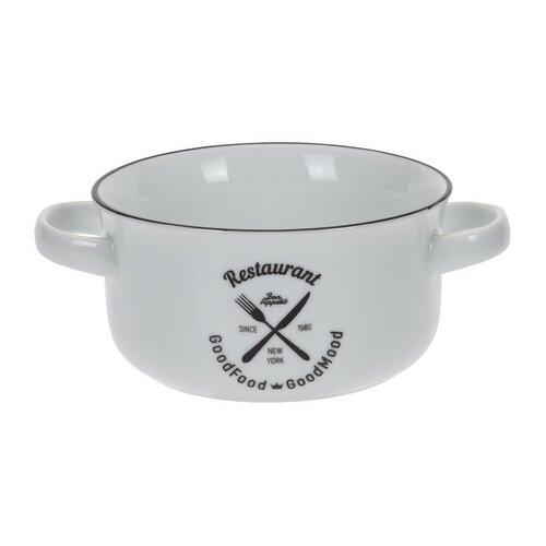 Porcelánová miska na polievku Bistro