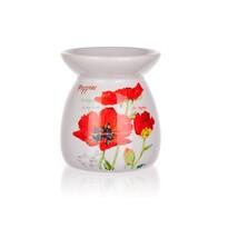 Lampa cu aromă de ceramică Red Poppy BANQUET