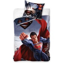 Lenjerie din bumbac Superman - Man of Steel, 140 x 200 cm, 70 x 90 cm