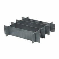 Compactor Organizér do zásuvky Free, sivá