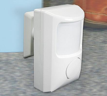 Alarm s pohybovým čidlem, bílá