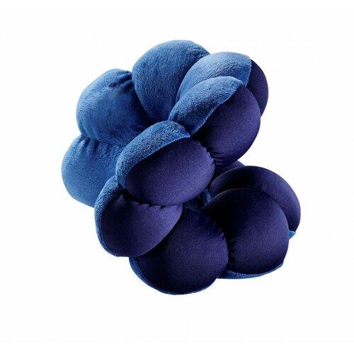 Multifunkční polštář Flower, modrá