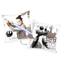 Párna Star Wars The Last Jedi - Light side, 40 x 40 cm