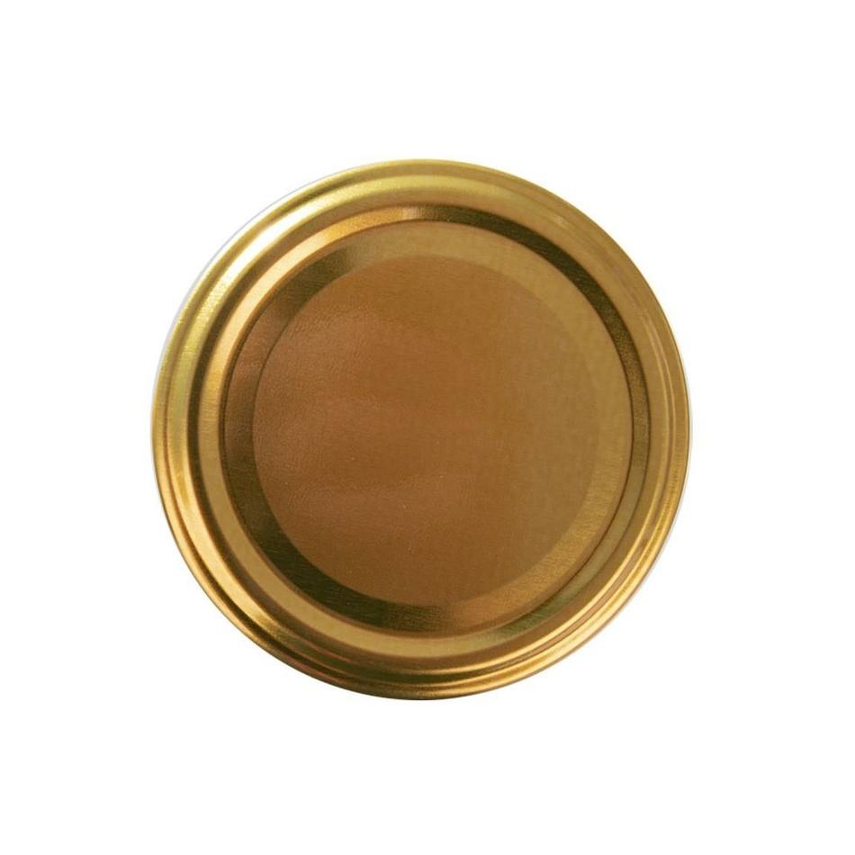Orion 10-dielná sada viečok so závitom Gold, 8,5 cm