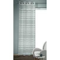 Albani Gino függöny karikákkal, ezüst, 135 x 245 cm