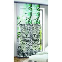 Draperie panou Albani Titan verde, 245 x 60 cm