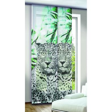 Albani závesový panel Titan zelená, 245 x 60 cm
