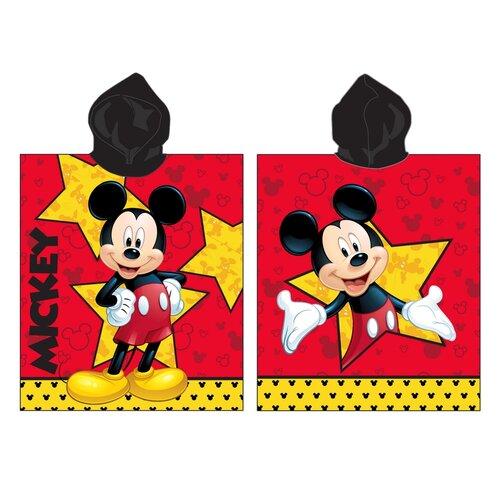 Jerry Fabrics Dětské pončo Mickey star, 60 x 120 cm