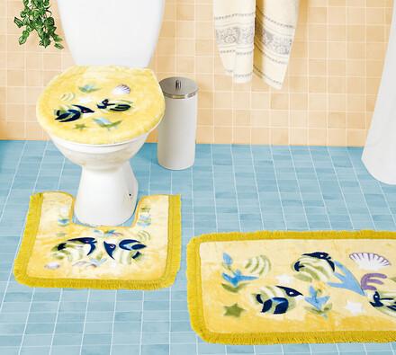 Koupelnové předložky rybky