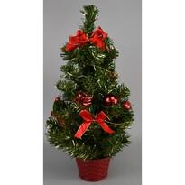 Vianočný stromček Newkirk červená, 50 cm