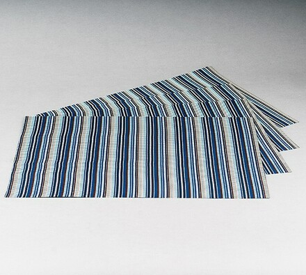 Podkładki na stół Bar, niebieskie, 30 x 45 cm, zestaw 4 szt.