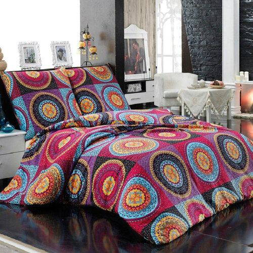 Night in Colours Bavlněné povlečení Gipsy oranžová, 140 x 220 cm, 70 x 90 cm