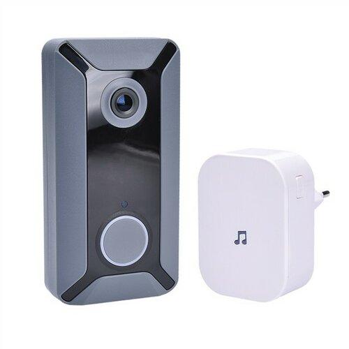 Solight 1L200 Wi-Fi bezdrátový zvonek s kamerou