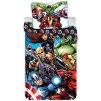 Lenjerie de pat Avengers 03, pentru copii, din bumbac, 140 x 200 cm, 70 x 90 cm