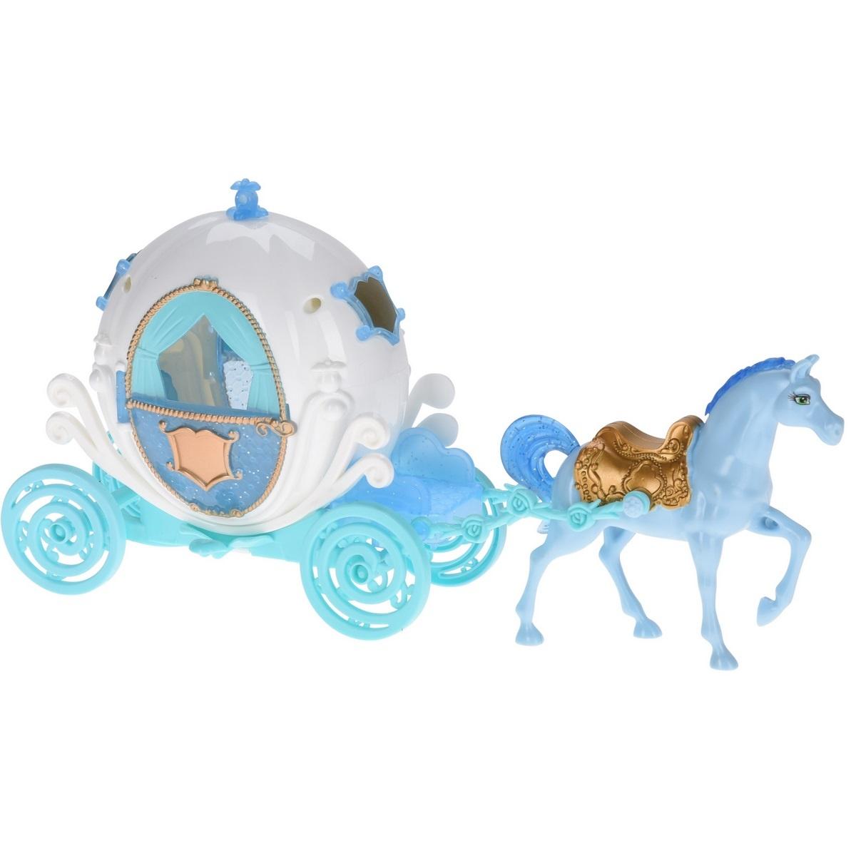 Dětský hrací set Princeznin kočár, 2 ks
