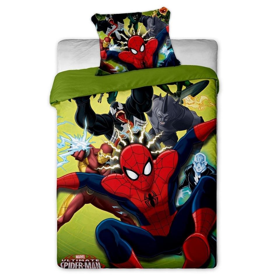 Jerry Fabrics Detské obliečky Spiderman 2015 micro, 140 x 200 cm, 70 x 90 cm