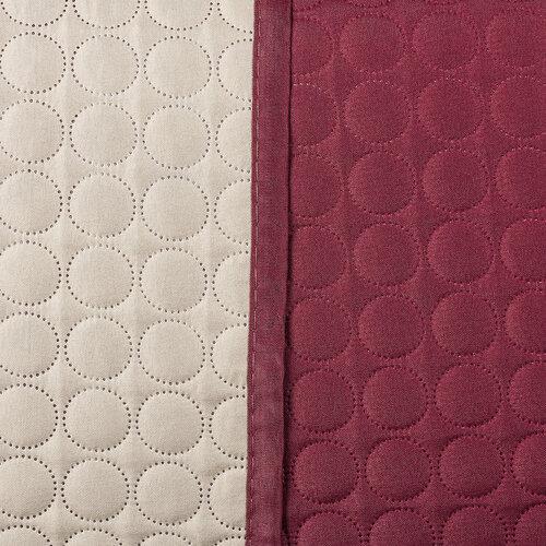 4Home Doubleface ágytakaró, bordó/bézs, 220 x 240 cm, 2x 40 x 40 cm