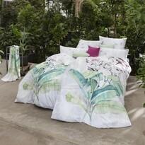 Lenjerie pat din satin Estella Camelie, 140 x 200 cm, 70 x 90 cm
