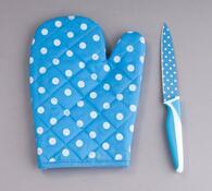 Teflonový nůž s chňapkou ZDARMA modrá