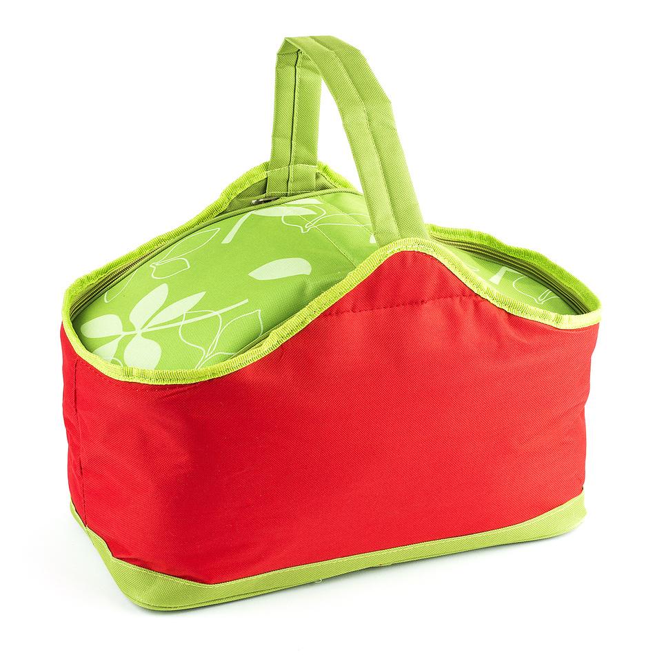 Chladící taška do ruky červená
