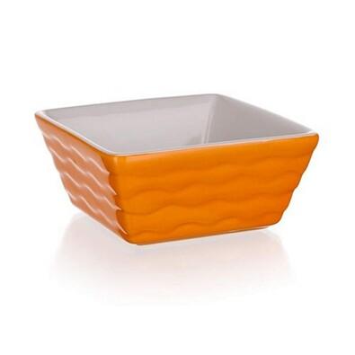 Banquet Culinaria Orange zapékací forma čtvercová 9,5x9,5 cm