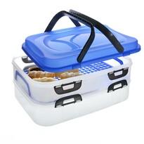 Caserolă portabilă de alimente Orion, 2 etaje